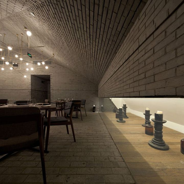 Capo restaurant shanghai neri hu design and research for Office design research