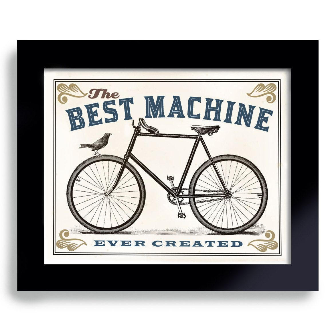 Black And White Bicycle Prints Google Search Bicycle Art Print