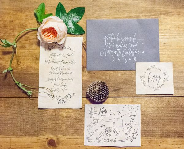Love this adorable invitation suite from Kindred. - www.yaykindred.com