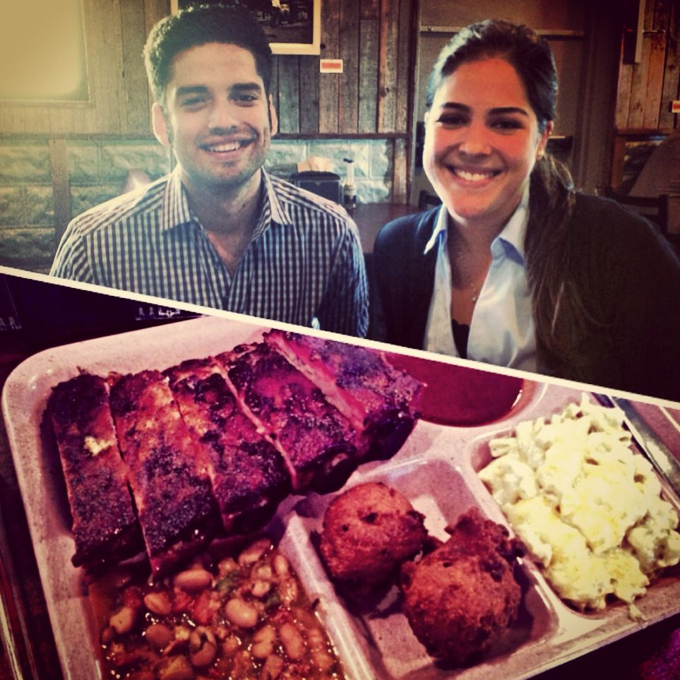 Taking the interns to tastes some real texas bbq at The Slow Bone #delicious #ribs