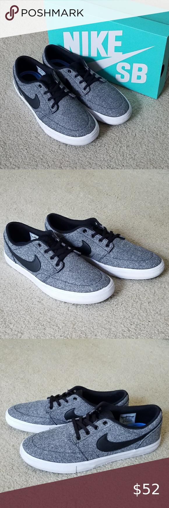 Nike SB Portmore II Skate Shoes - Size 10.5 | Skate shoes, Nike sb ...