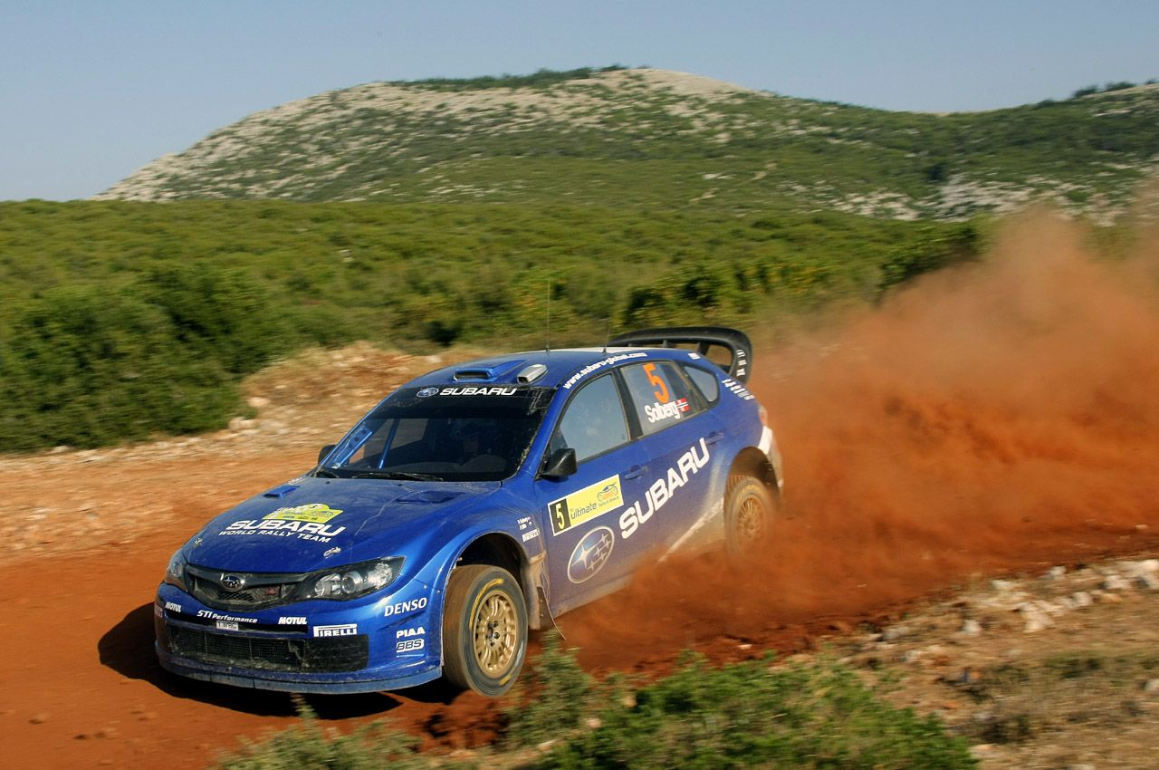 Dearly departed when subaru left the wrc