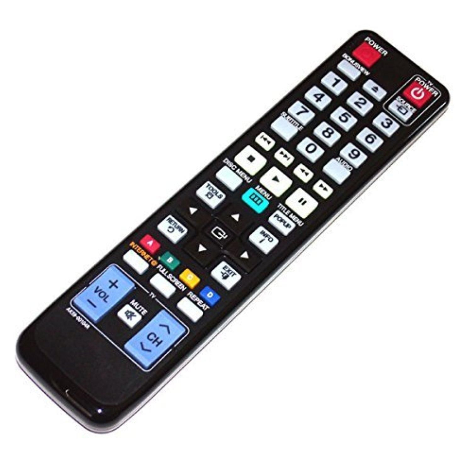 Brought To You By Avarshacom Divdivawo Lamps Ak59 00104r Samsung Bd F5100 Bluray Player Awo Replacement Remote Control Fit For Blu Ray Dvd Disc