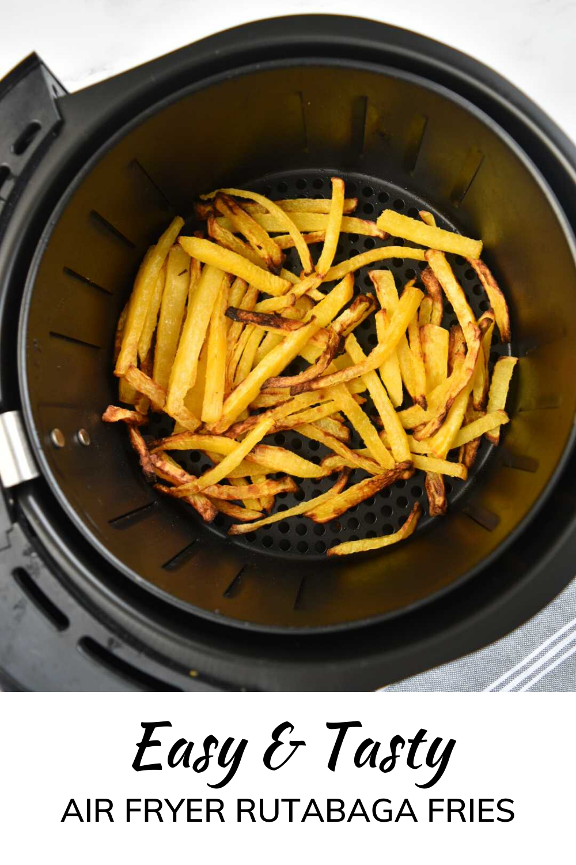 Healthy Air Fryer Rutabaga Fries {Low Carb} Hint of