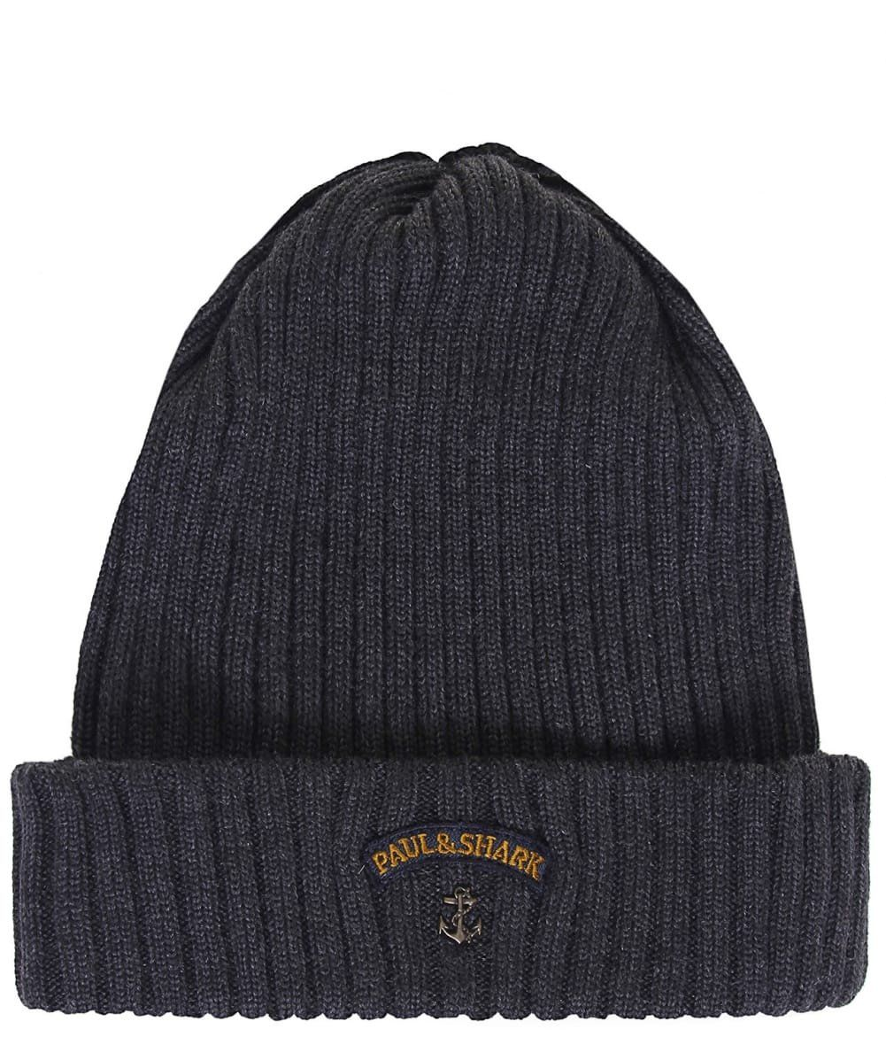 Beanie in Wool - Grey Selected S2TWqsmkr
