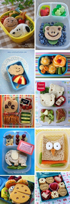 snacks for kids 10 clever creative lunchbox ideas dies das pinterest essen f r kinder. Black Bedroom Furniture Sets. Home Design Ideas