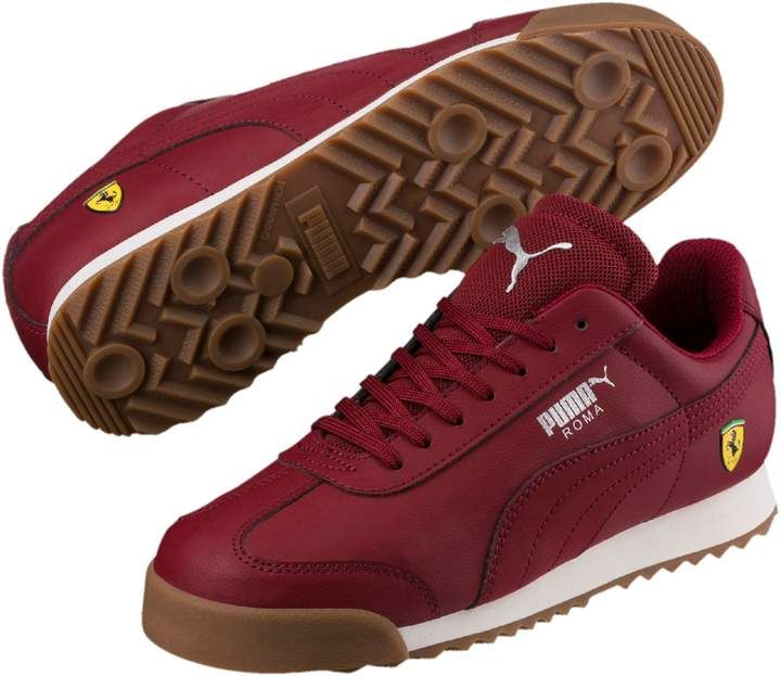 PUMA Scuderia Ferrari Roma Little Kids/' Shoes Kids Shoe Kids