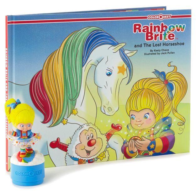 Rainbow Brite™ and the Lost Horseshoe ColorQuest Book