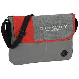 35a7b800d0c Give your promotional message added value on this custom messenger bag!