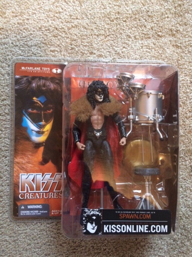 Mcfarlane Toys Kiss Creatures Eric Carr The Fox Action Figure