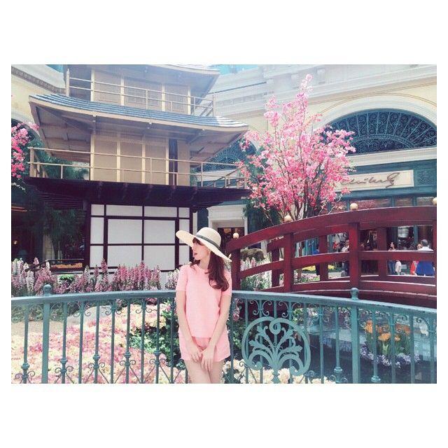 Haruna Kojima in Las Vegas #小嶋陽菜 #AKB48