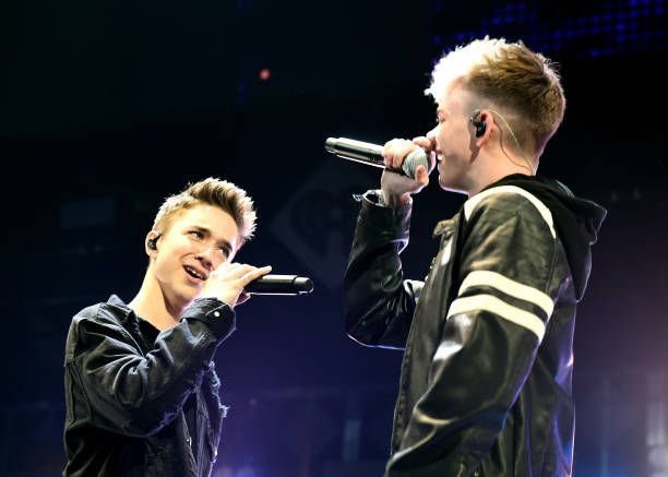 Daniel Seavey And Corbyn Besson Of Why Don T We Performs Onstage