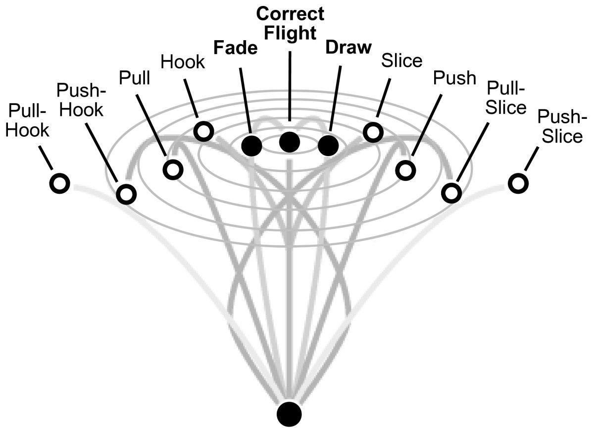 medium resolution of golf ball flight