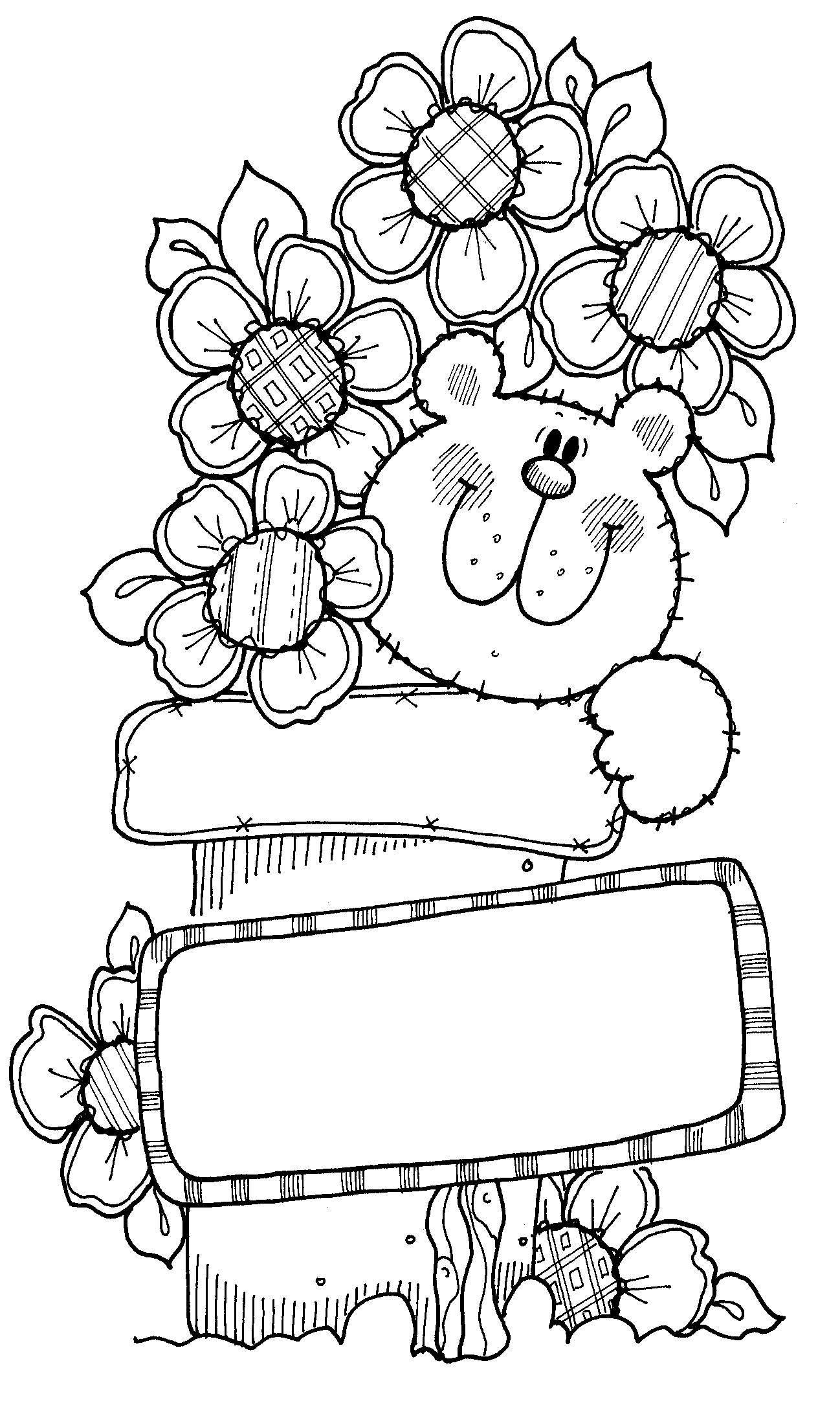 Dibujos Country Para Pintar En Madera Bears Digi Stamps Digital