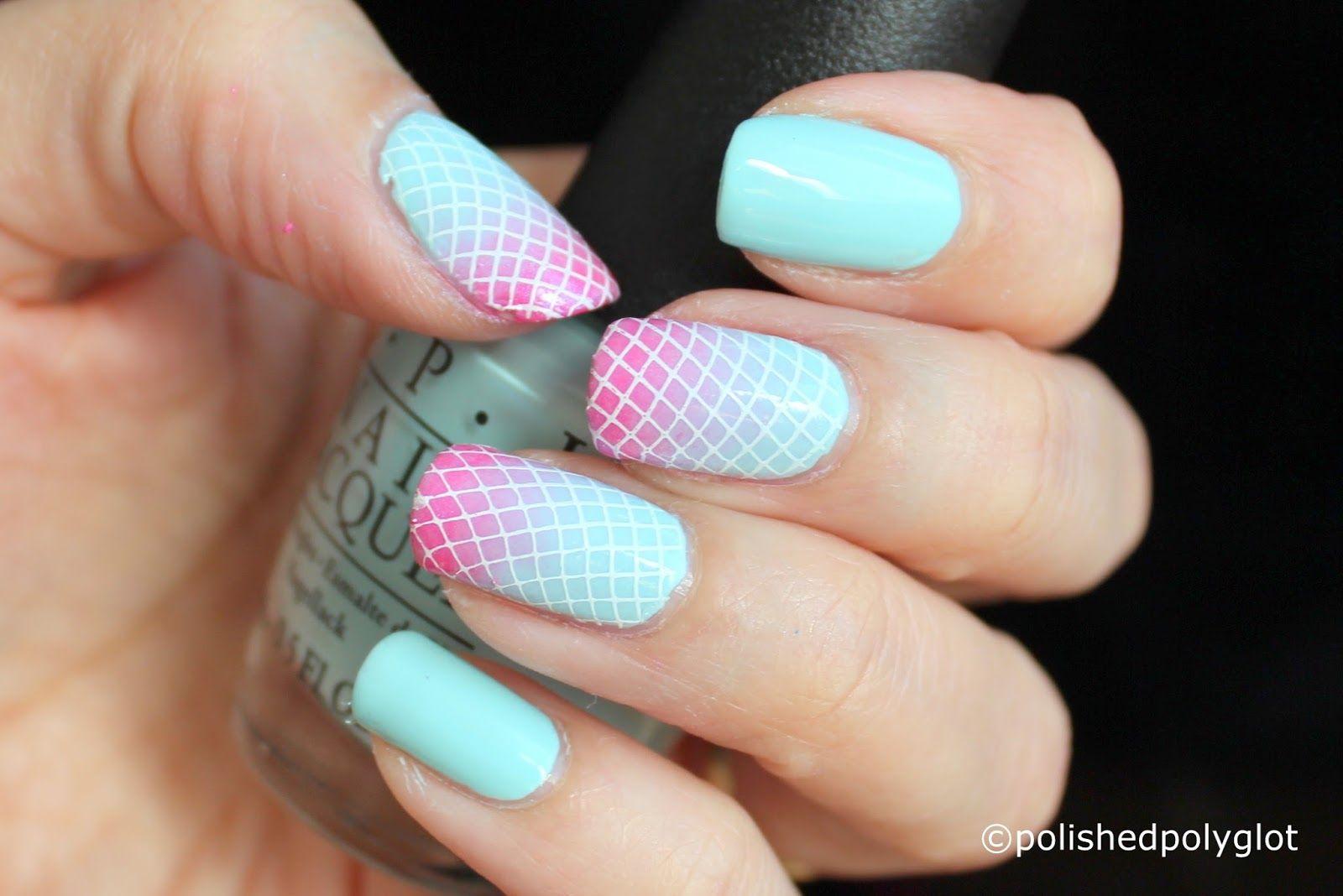 Nail Art Pastel Bold Nails For Spring 26gnai My Nail Art