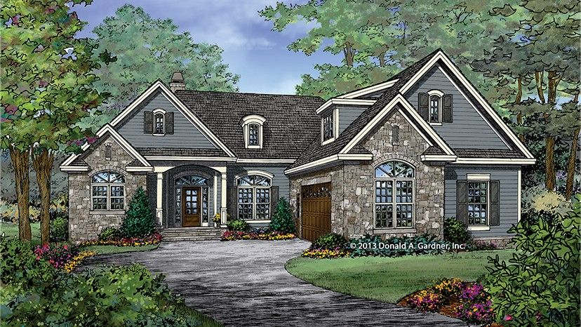 Home plan homepw77451 1986 square foot 3 bedroom 2 for Home plan com