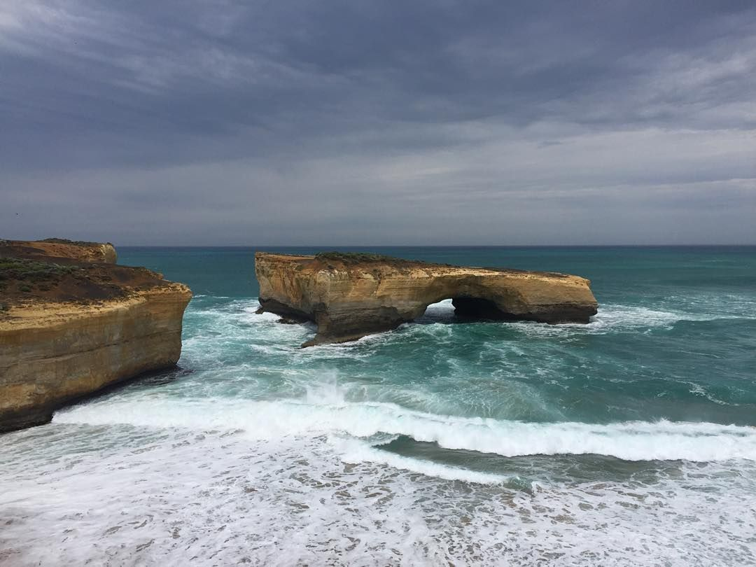 So pleased with this picture no filter needed #londonbridge #melbourne #australia #greatoceanroad #nofilter #oz #roadtrip by steveh_22