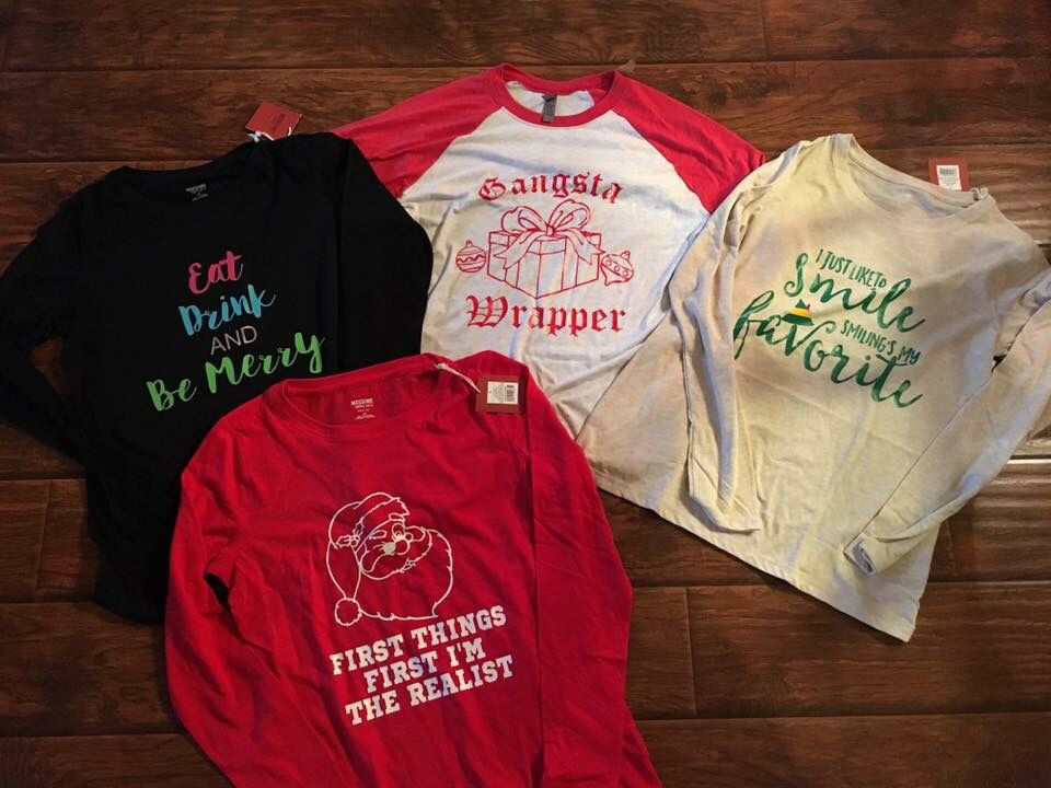 Holiday Shirt Ideas