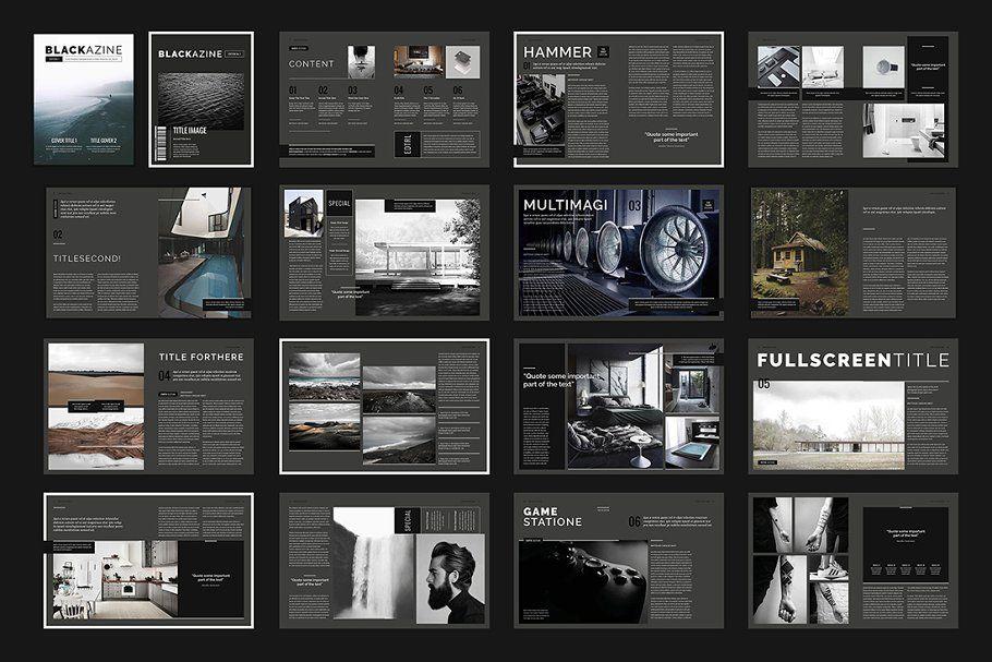 15 InDesign Magazines & Brochures (с изображениями)
