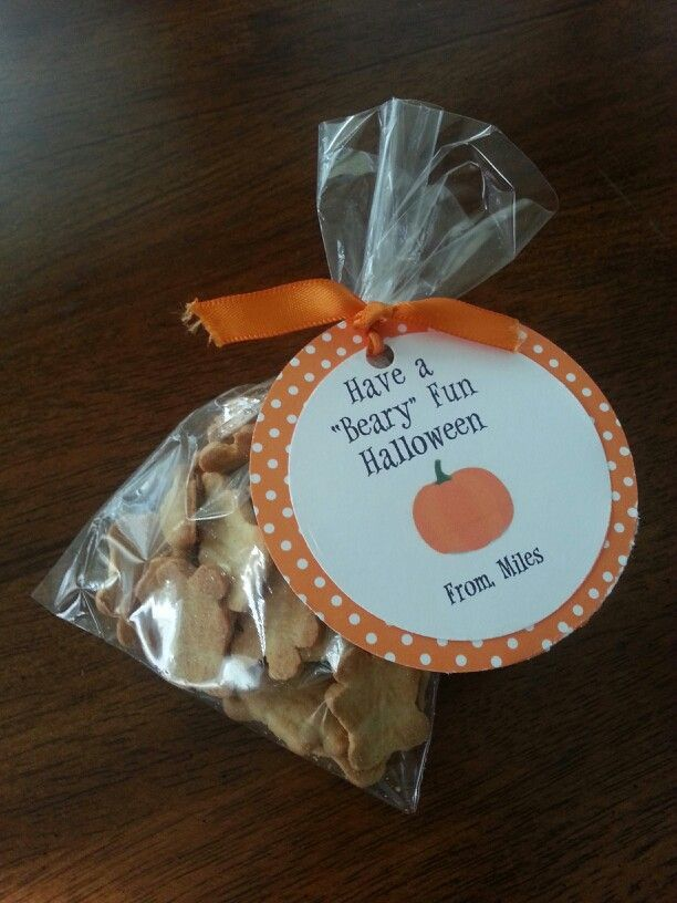 Classroom Ideas For 1 Year Olds : Halloween classroom treat for year olds teddy grahams