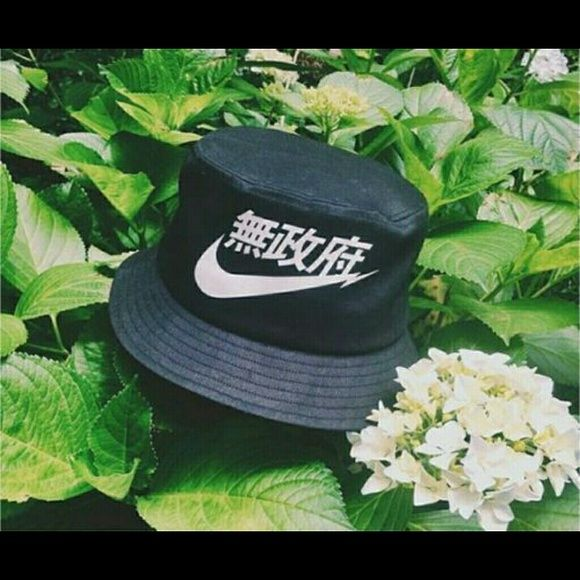 Japanese Chinese Nike Air Bucket Hat Black Bucket Hat Hats Nike Accessories