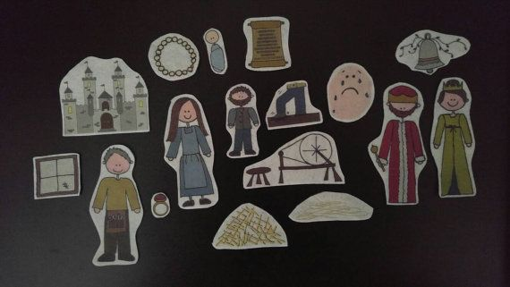 Check out this item in my Etsy shop https://www.etsy.com/listing/41866347/rumplestiltskin-flannel-board-story-felt