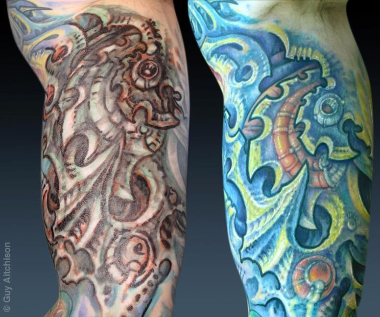 guy aitchison reinventing the tattoo