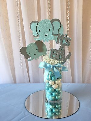 Elephant Baby Shower Boy Baby Shower Centerpieces Girl Baby