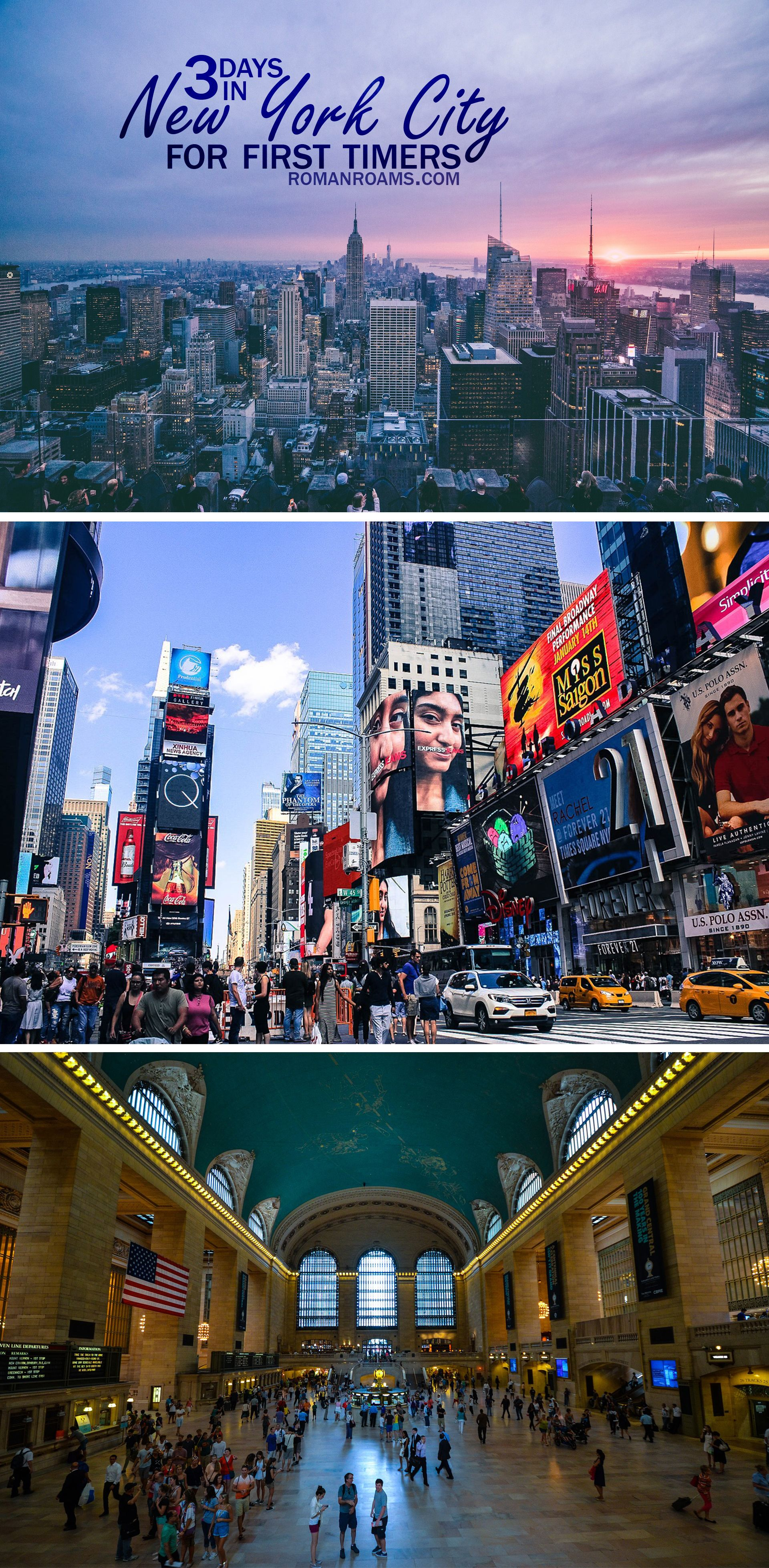 nyc attractions in 3 days new york is a huge city, but