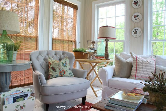 Savvy Southern Style: The Sun Room's Many Lives