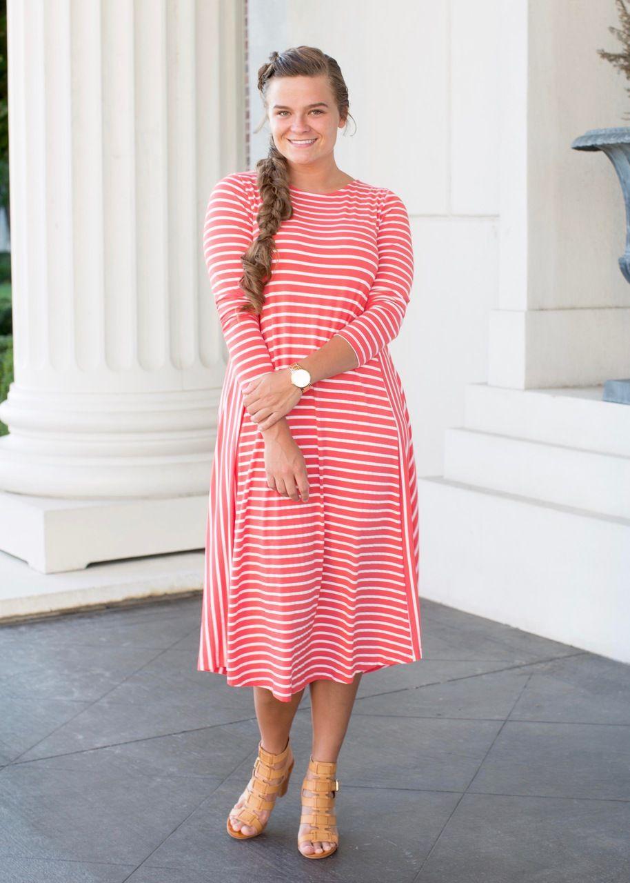 Your Favorite Dress (9 colors) | Pinterest | Modest fashion, July 31 ...
