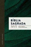 Biblia Nvt Verde Letra Grande Brochura C Orelhas Biblia Do
