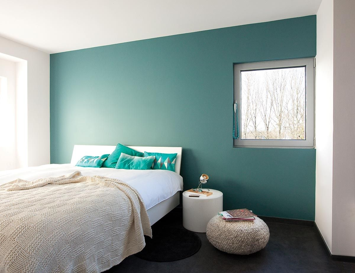 Slaapkamer blauw verven inspirerende badkamer kleur voor volwassen