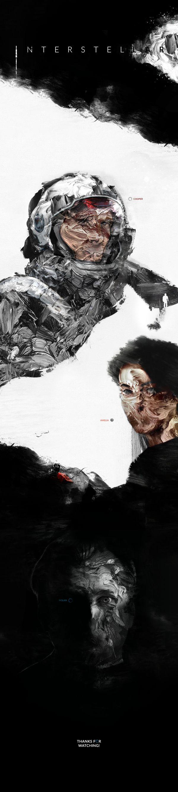 Fan-Made #Interstellar #Posters by Kirill Talalaev