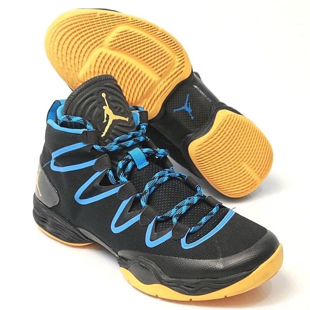 innovative design 87c3b f2a09 ... ireland mens nike air jordan 28 xx8 se black blue mango playoffs 616345  036 us 11