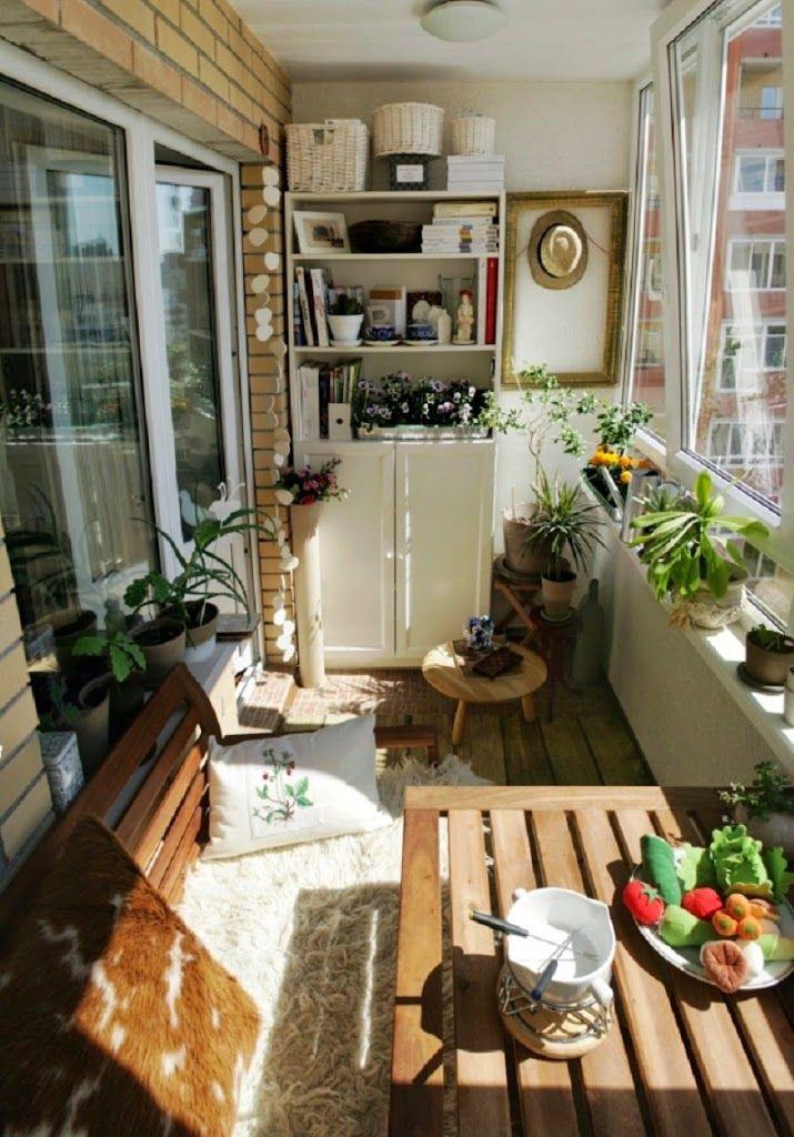 30 Ideas para decorar el pequeo balcn de tu casa Vida Lcida