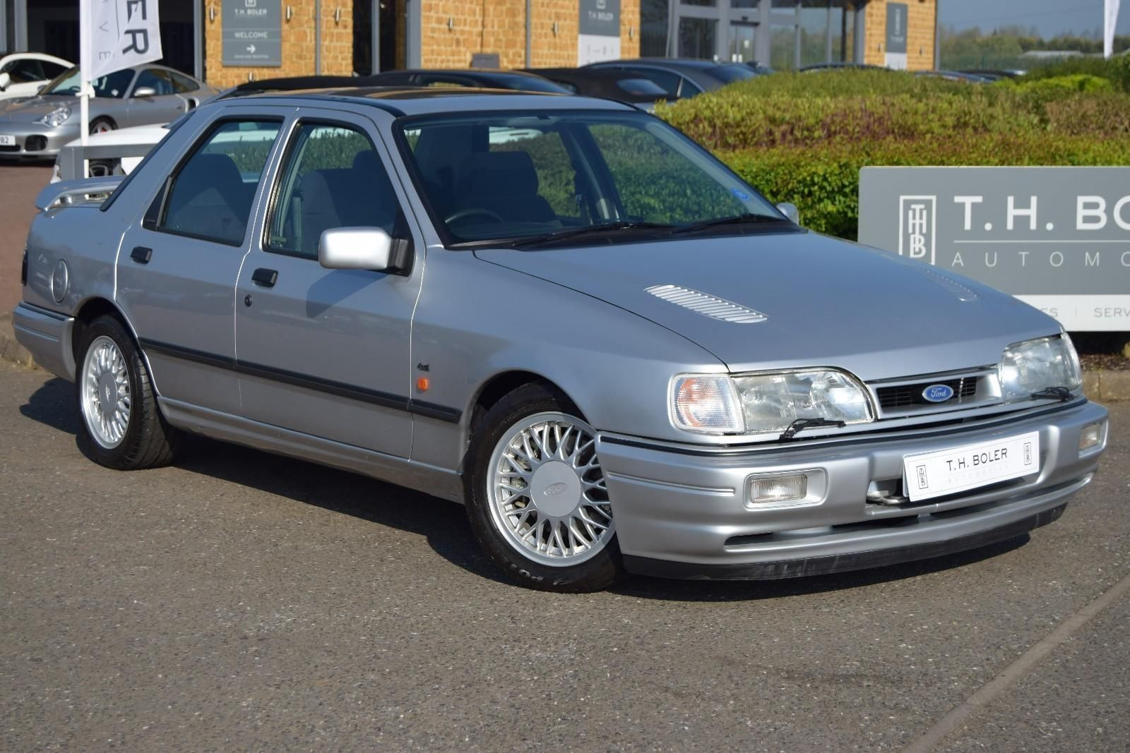 Looking for a 1992 ford sierra sapphire cosworth 4x4 petrol silver manual?  This one is