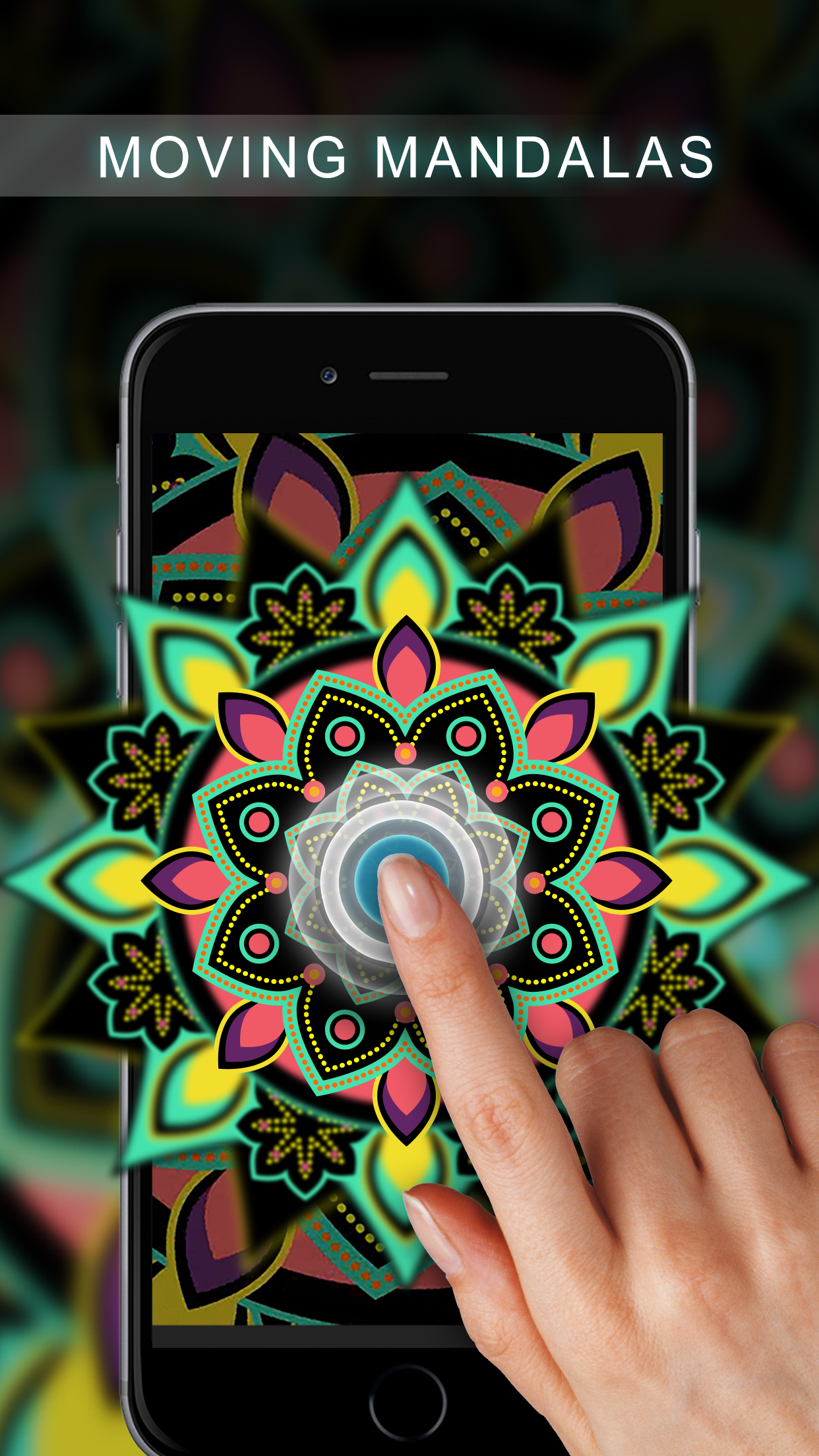 Live Mandala Wallpapers for iOS https://itunes.apple.com/us
