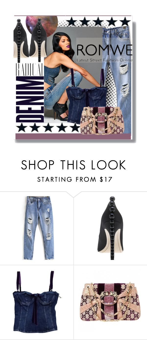 """""""Untitled #277"""" by elle666emm ❤ liked on Polyvore featuring B. Ella, Alima, Dolce&Gabbana and Gucci"""