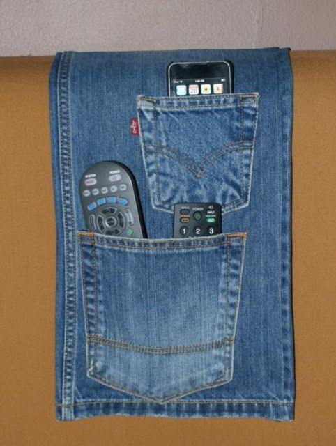 12 Ideias Para Reciclar Jeans Diy And Crafts Jeans Velho Jeans