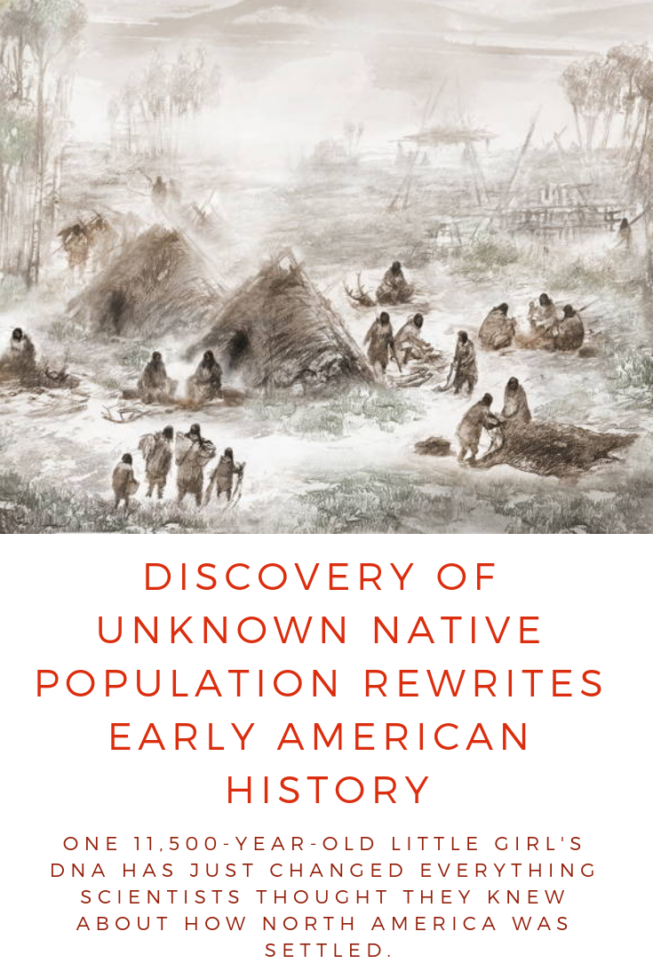 Discovery Of Unknown Native Population Rewrites Early American History #historyfacts