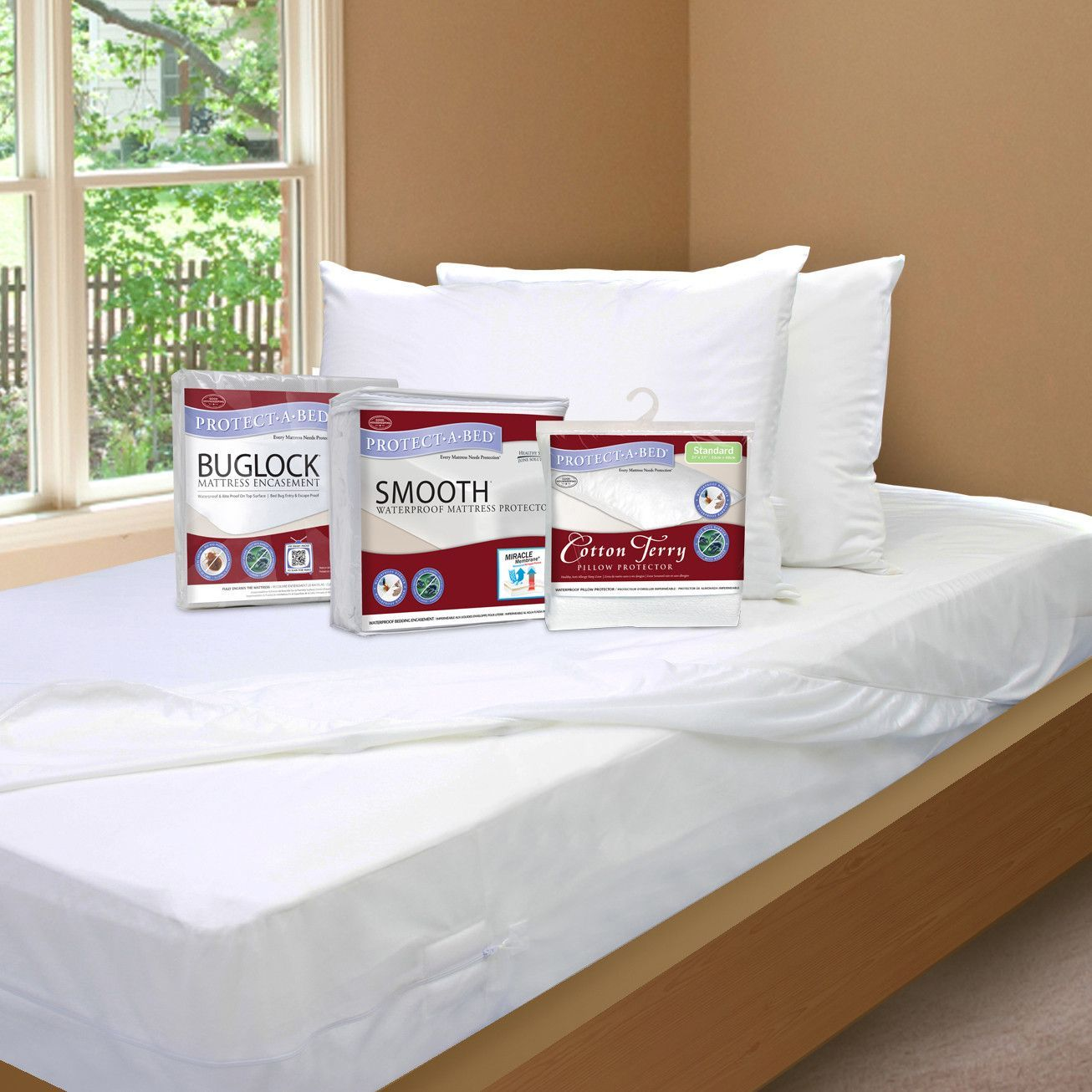 ProtectABed 3piece Back To School Bedding Protection