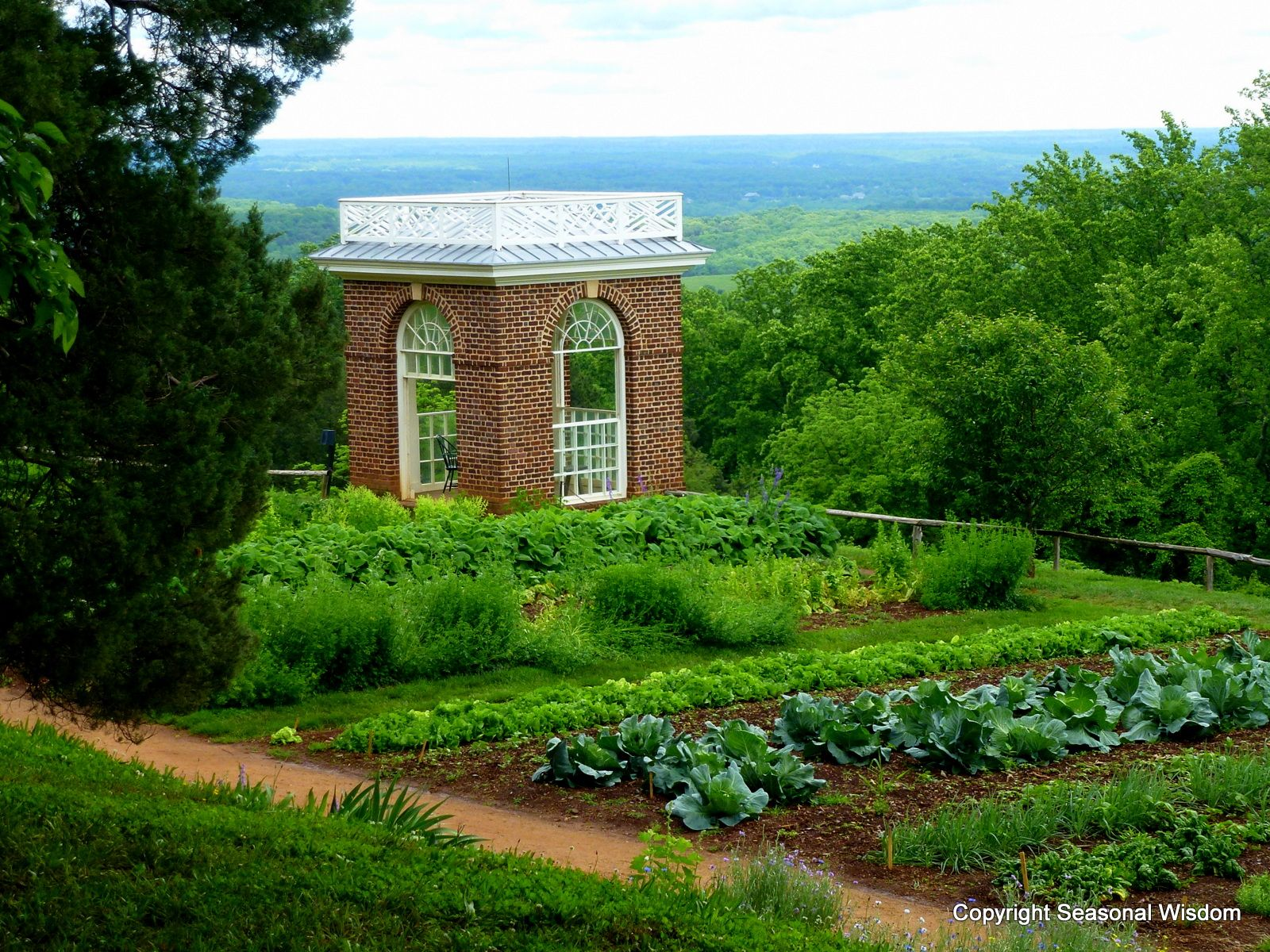 Read About Thomas Jeffersonu0027s Renowned Vegetable Garden At Monticello,  Where He Grew 330 Varieties Of 99 Species Of Vegetables. Interview With The  Man Who ...