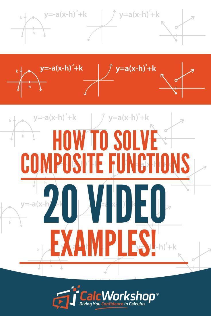 How to Solve Composite Functions (20 Video Examples!) | Precalculus ...