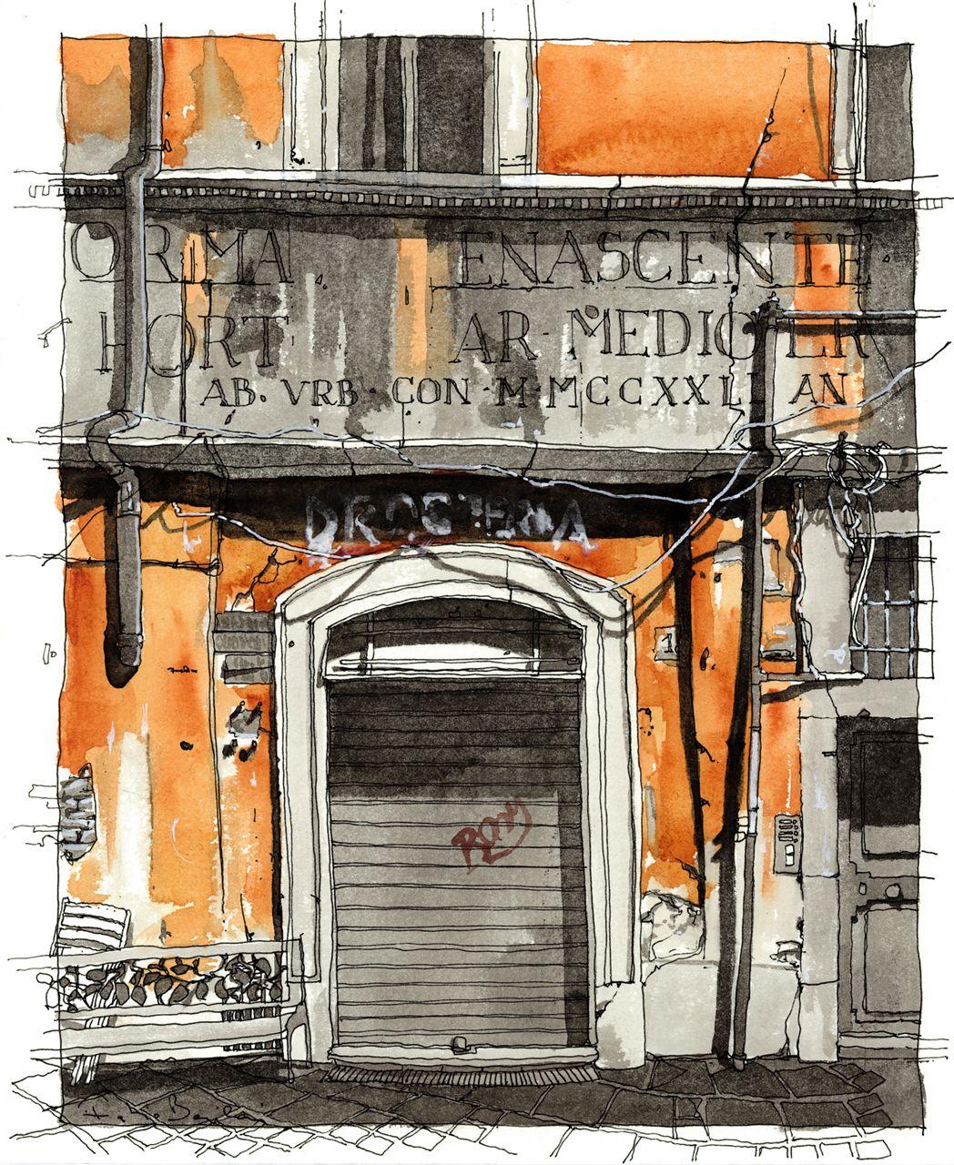 Galería - Arte y Arquitectura: Il Senso delle Cose, Ilustraciones por Fabio Barilari - 31