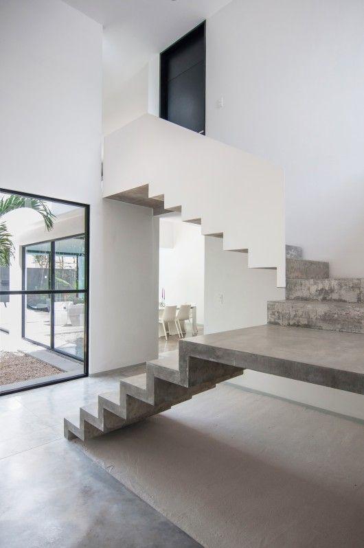 Garcias House / Warm Architects Escalera, House y Arquitectura - diseo de escaleras interiores