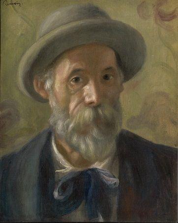 Self-Portrait, 1899 (Pierre-August Renoir) (1841-1919) The Clark Art Institute, Williamstown, MA, 1955.611