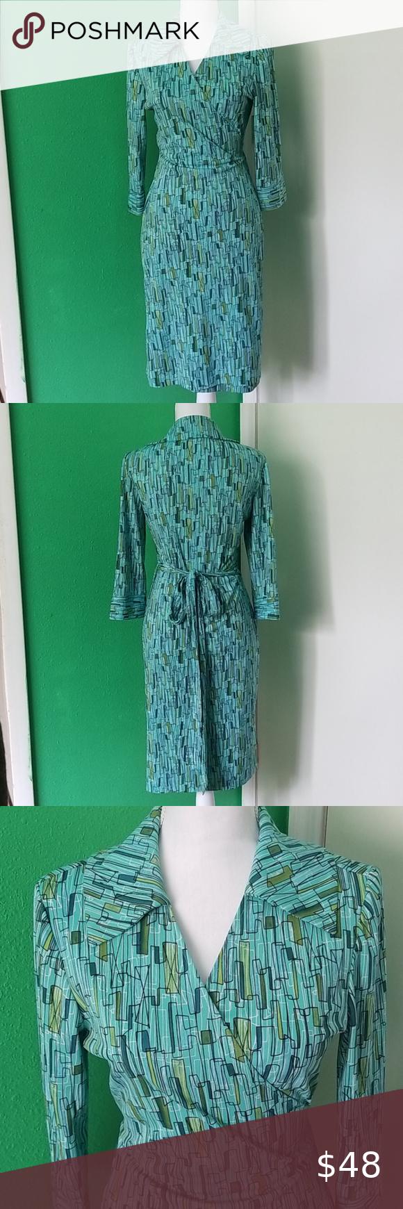 Atomic Age Rockabilly Vintage Wrap Dress Vintage Wrap Dress Vintage Wraps Wrap Dress [ 1740 x 580 Pixel ]