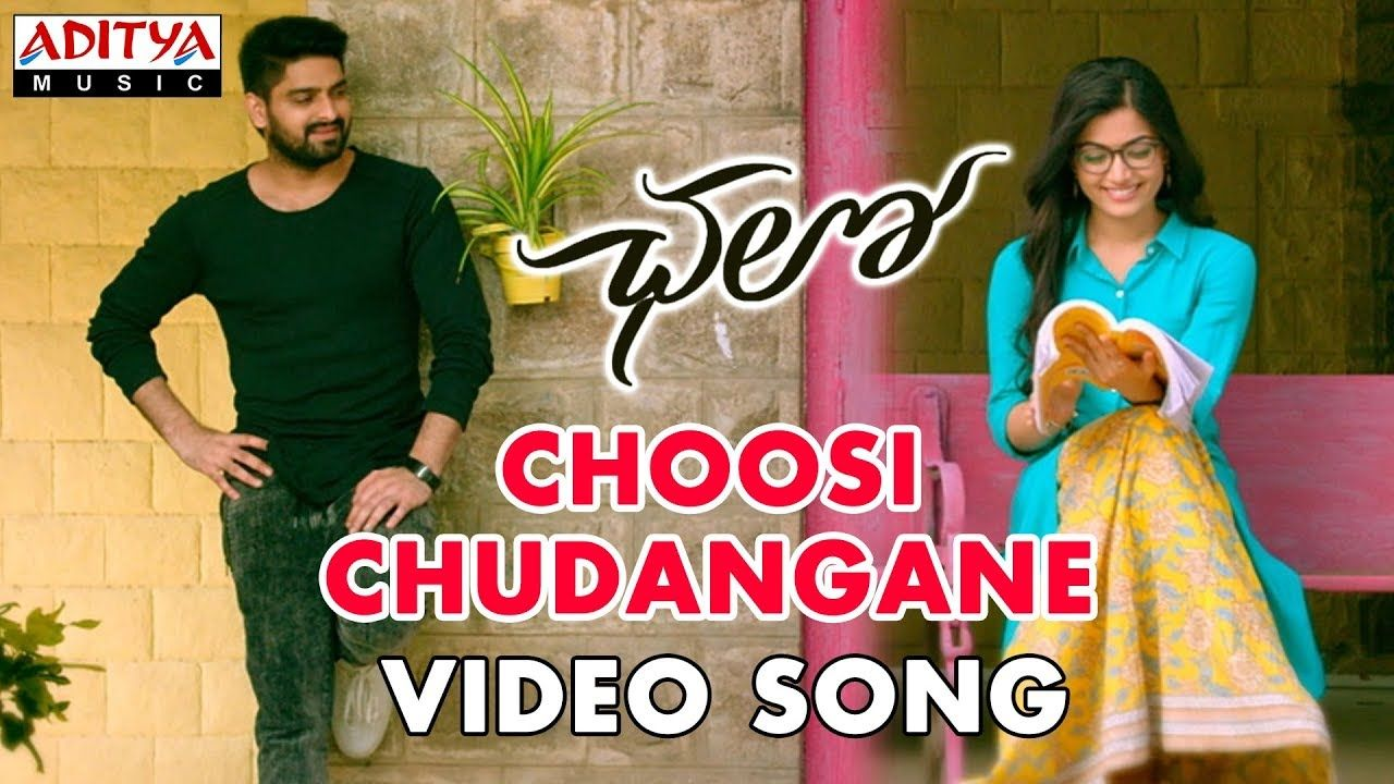 Video Naga Shourya Rashmika Chalo Movie Song Thatisy Com