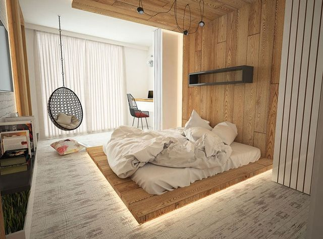 Schlafzimmer Wenge ~ Schlafzimmer design mit holz u einrichtungsideen mit rustikalem